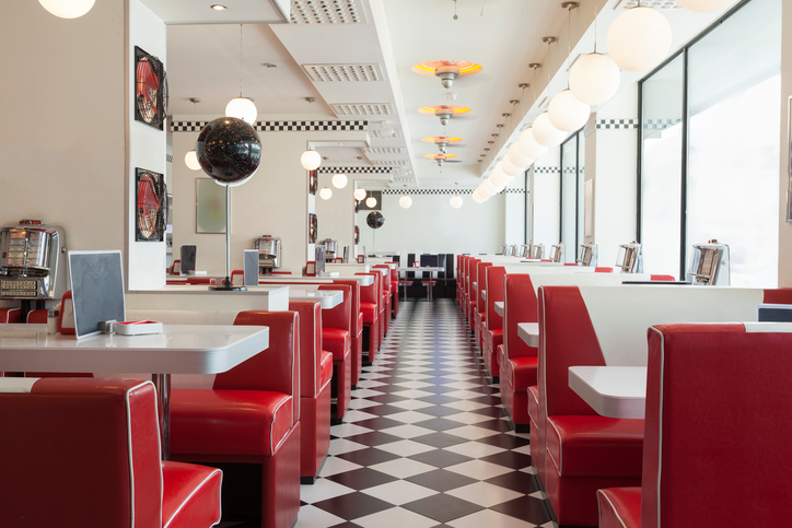 image of a diner in Illinois