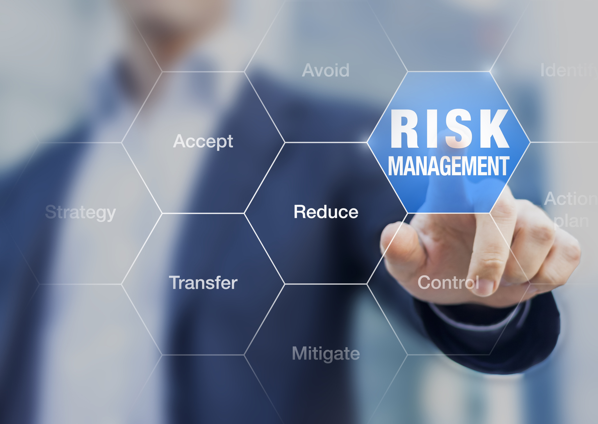 image of risk management focus for businesses