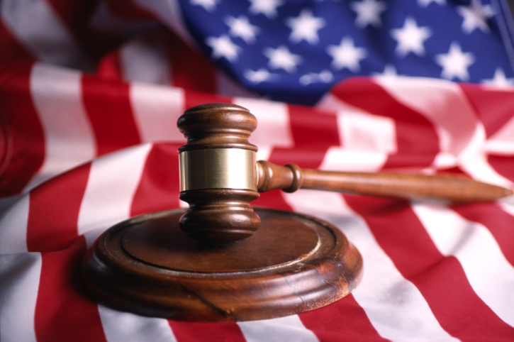American Flag & Gavel